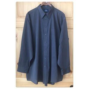 Stafford Wrinkle Free dress shirt Sz 18 (34/35)